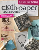 Cloth Paper Scissors Magazine 5/1/2014