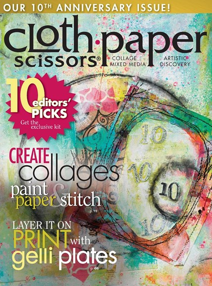 Cloth Paper Scissors Cover - 11/1/2014