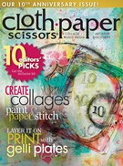 Cloth Paper Scissors Magazine 11/1/2014