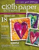 Cloth Paper Scissors Magazine 1/1/2013