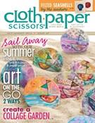 Cloth Paper Scissors Magazine 7/1/2013