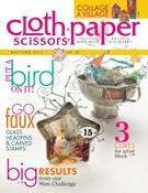 Cloth Paper Scissors Magazine 5/1/2013