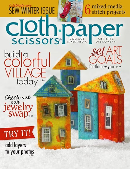 Cloth Paper Scissors Cover - 11/1/2013