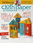 Cloth Paper Scissors Magazine 11/1/2013