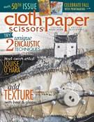 Cloth Paper Scissors Magazine 9/1/2013