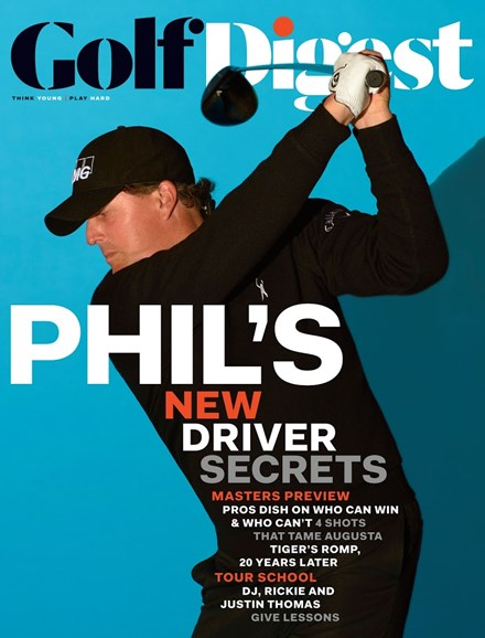 Golf Digest Cover - 4/1/2017