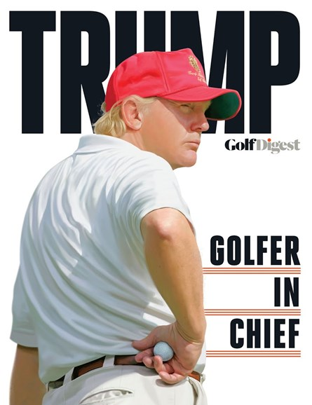 Golf Digest Cover - 1/1/2017