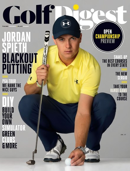 Golf Digest Cover - 7/1/2017