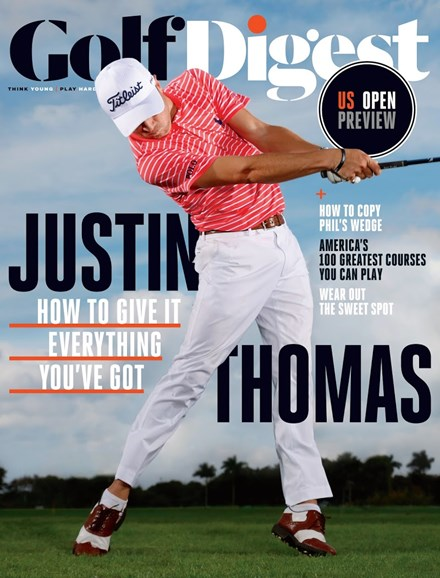 Golf Digest Cover - 6/1/2017