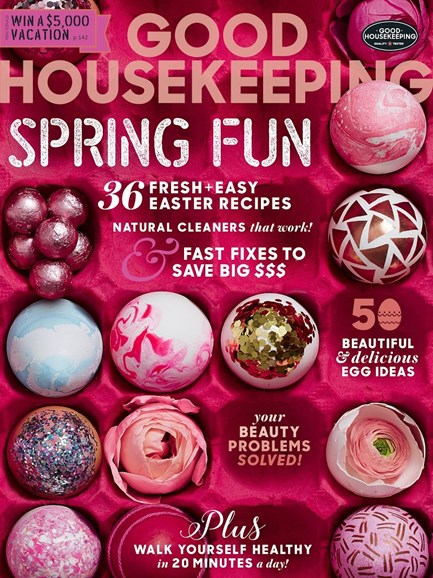 Good Housekeeping Cover - 4/1/2017
