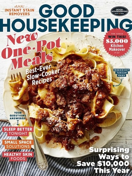 Good Housekeeping Cover - 2/1/2017