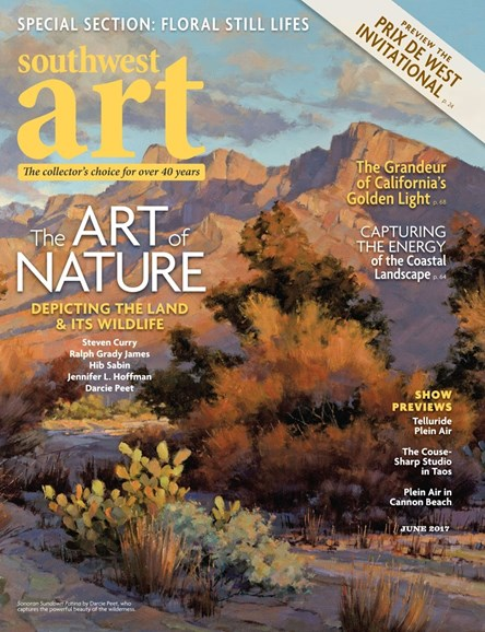 Southwest Art Cover - 6/1/2017