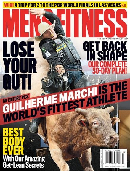 Men's Fitness Cover - 4/1/2017