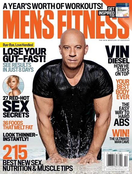 Men's Fitness Cover - 2/1/2017