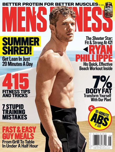 Men's Fitness Cover - 6/1/2017