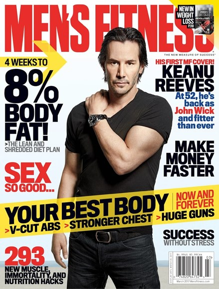 Men's Fitness Cover - 3/1/2017