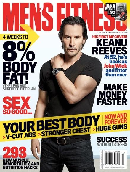 Men's Fitness Cover - 3/1/2017