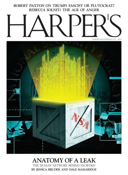 Harper's Cover - 5/1/2017