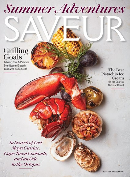Saveur Cover - 6/1/2017