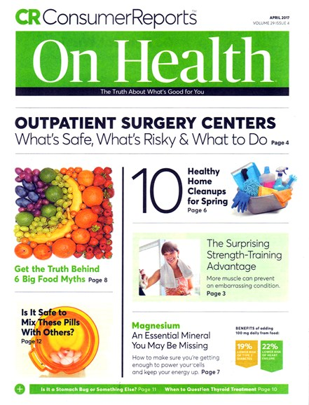 Consumer Reports On Health Cover - 4/1/2017