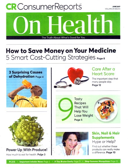 Consumer Reports On Health Cover - 6/1/2017