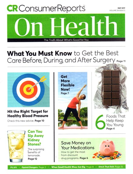 Consumer Reports On Health Cover - 5/1/2017