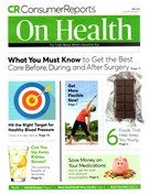 Consumer Reports On Health Magazine 5/1/2017