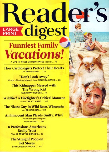 Reader's Digest - Large Print Edition Cover - 6/1/2017