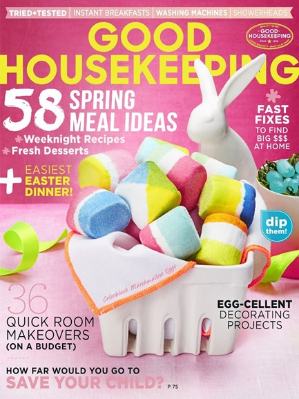 Good Housekeeping Cover - 4/1/2015