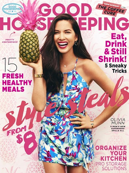 Good Housekeeping Cover - 8/1/2015