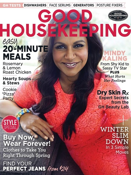 Good Housekeeping Cover - 2/1/2015