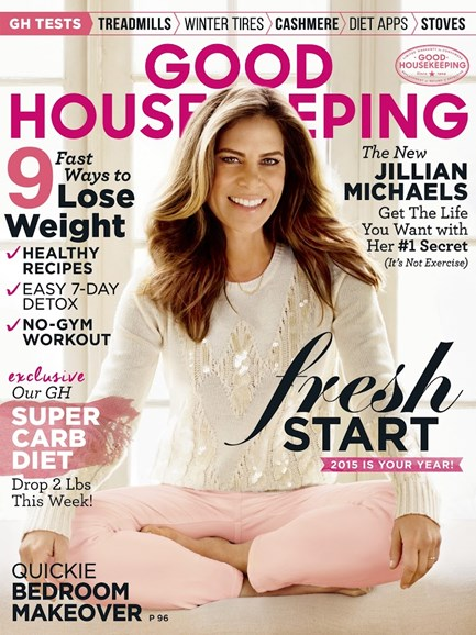Good Housekeeping Cover - 1/1/2015
