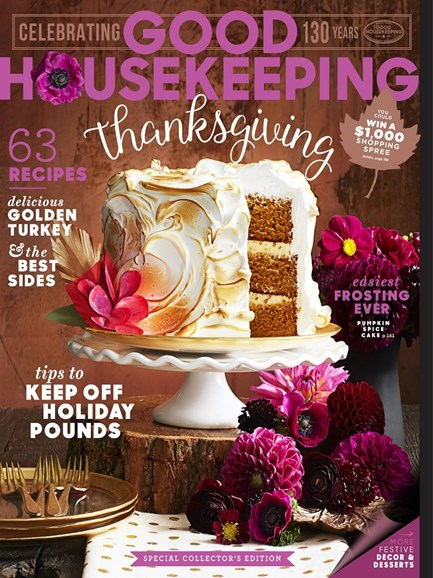 Good Housekeeping Cover - 11/1/2015
