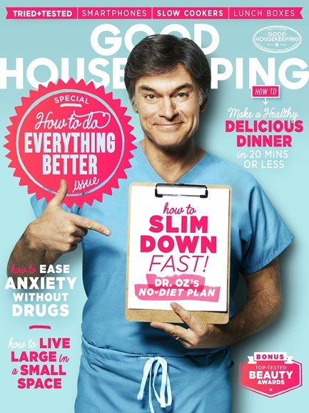 Good Housekeeping Cover - 9/1/2015