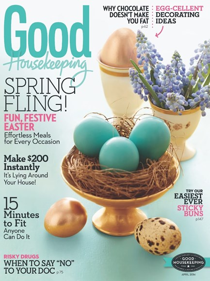 Good Housekeeping Cover - 4/1/2014