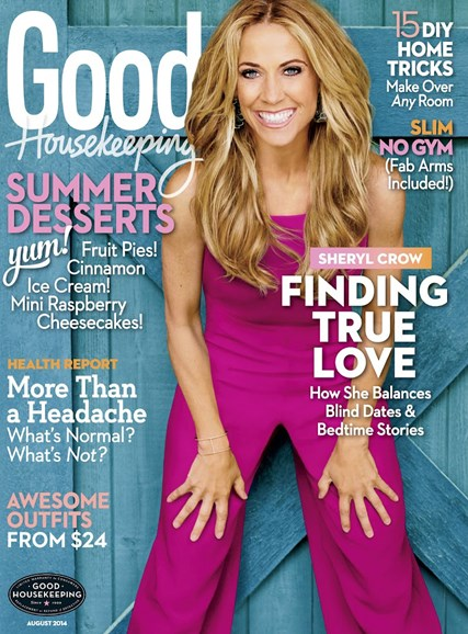 Good Housekeeping Cover - 8/1/2014