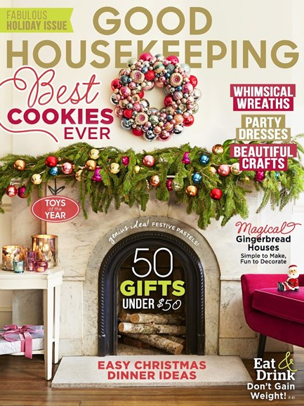 Good Housekeeping Cover - 12/1/2014