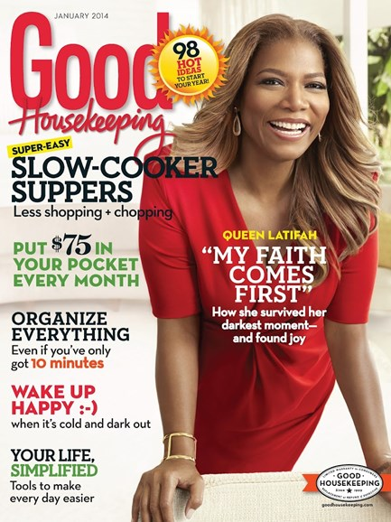 Good Housekeeping Cover - 1/1/2014