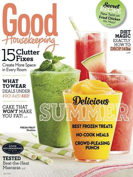 Good Housekeeping Cover - 7/1/2014
