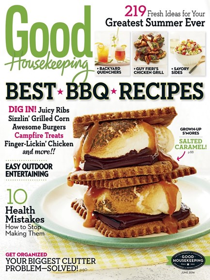 Good Housekeeping Cover - 6/1/2014