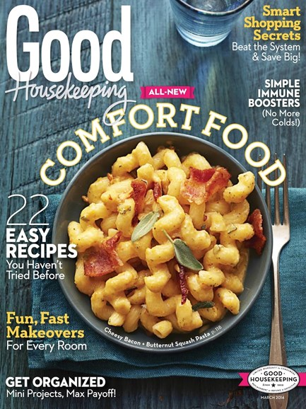 Good Housekeeping Cover - 3/1/2014