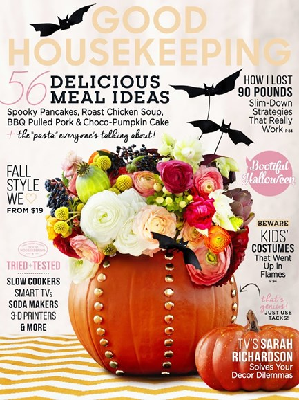 Good Housekeeping Cover - 10/1/2014