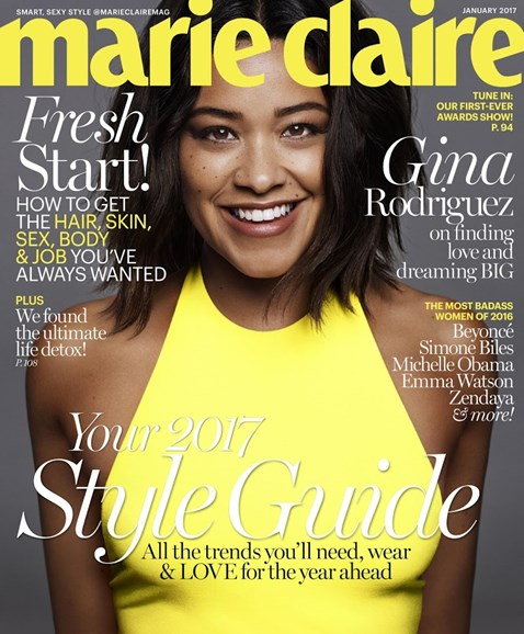 Marie Claire Cover - 1/1/2017