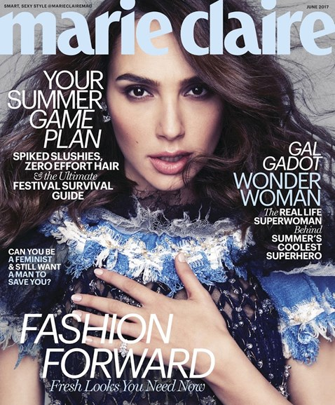Marie Claire Cover - 6/1/2017