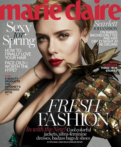 Marie Claire Cover - 3/1/2017