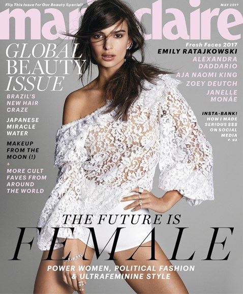 Marie Claire Cover - 5/1/2017