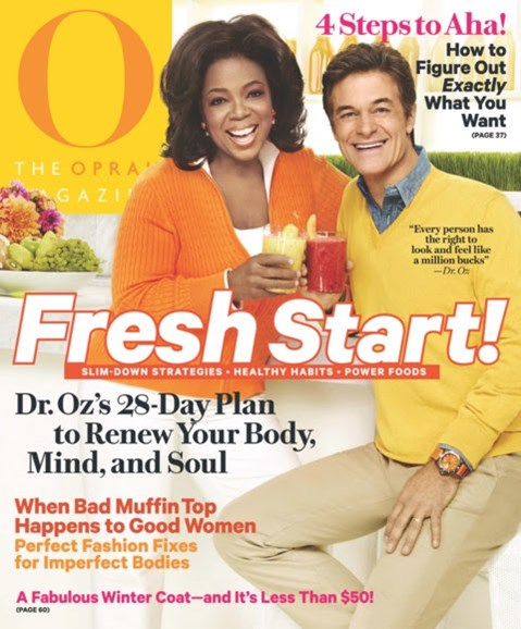 O The Oprah Cover - 1/1/2012