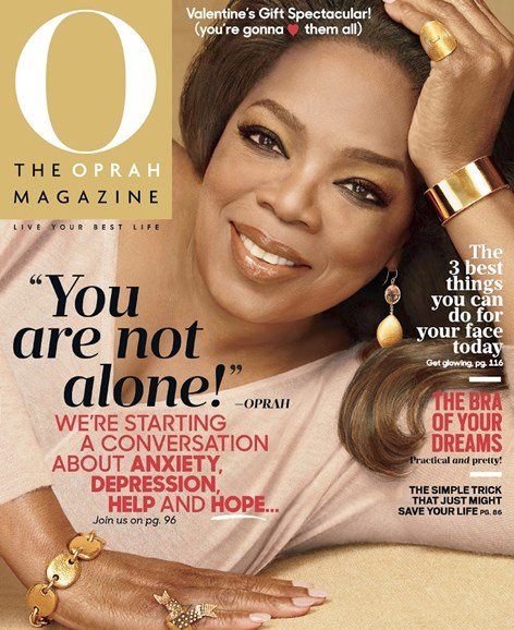 O The Oprah Cover - 2/1/2016