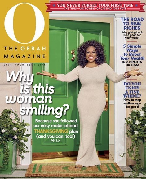 O The Oprah Cover - 11/1/2016