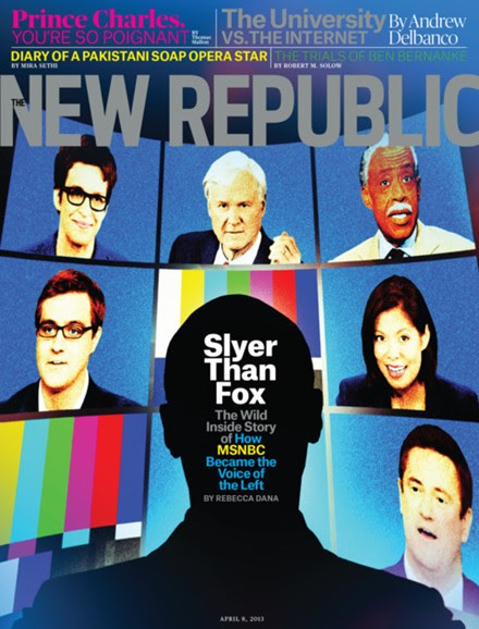 The New Republic Cover - 4/8/2013
